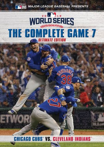 2016 World Series: The Complete Game 7 [Ultimate Edition] [2 Discs] [DVD] [2016] 32625257