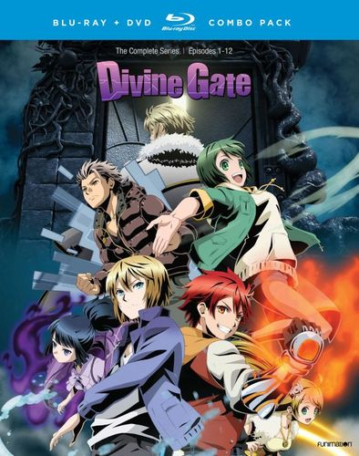 Divine Gate: The Complete Series [Blu-ray/DVD] [4 Discs] 32709722