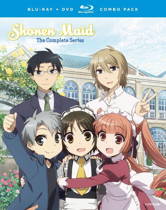 Shonen Maid: The Complete Series [Blu-ray/DVD] [4 Discs] 32709795