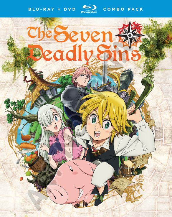Seven Deadly Sins: Season One - Part One [Blu-ray] [4 Discs] 32709804