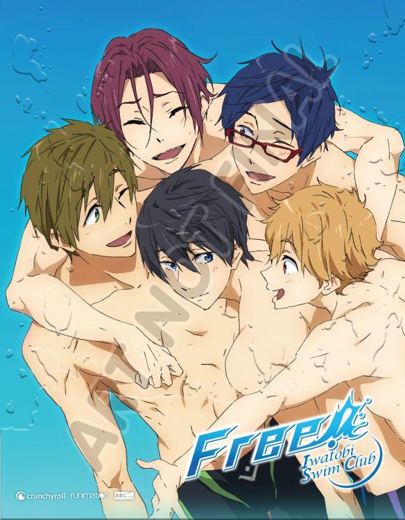 Free! Iwatobi Swim Club: Season One [Limited Edition] [Blu-ray/DVD] [4 Discs] 32710332