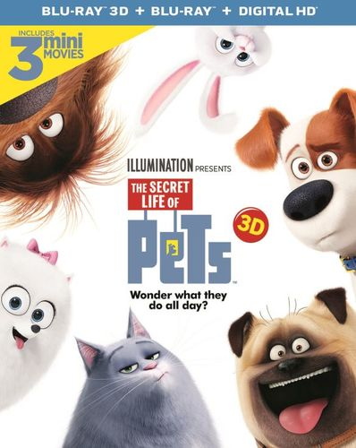 The Secret Life of Pets [3D] [Blu-ray] [2 Discs] [Blu-ray/Blu-ray 3D] [2016] 32715337