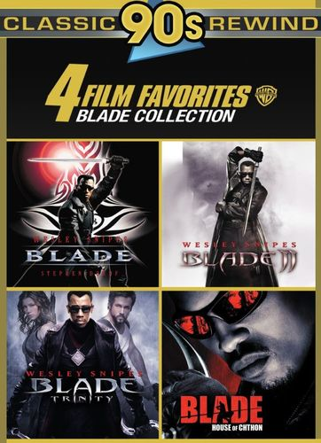 4 Film Favorites: Blade Collection [4 Discs] [DVD] 32754746