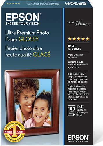 Epson Ultra Premium Glossy Photo Paper White S042174