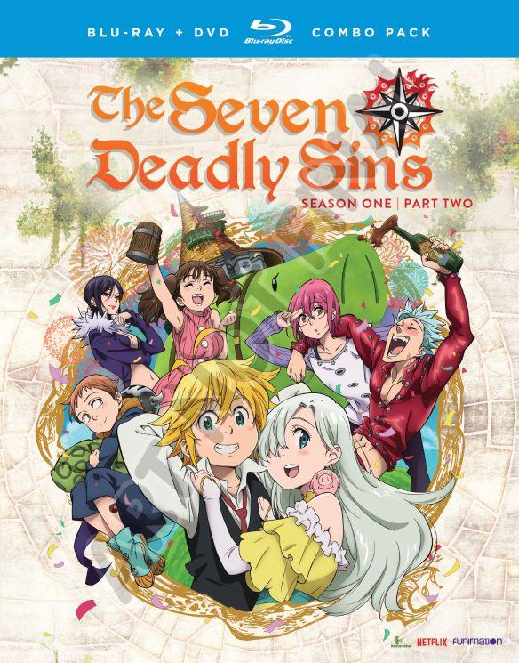 Seven Deadly Sins: Season One - Part Two [Blu-ray] [4 Discs] 32787934