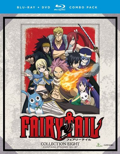 Fairy Tail: Collection Eight [Blu-ray/DVD] [8 Discs] 32787952