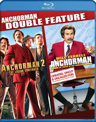 Anchorman/Anchorman 2 [Blu-ray] [2 Discs] 32827349