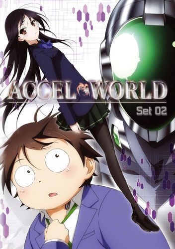 Accel World: Set 02 [2 Discs] [DVD] 3286055