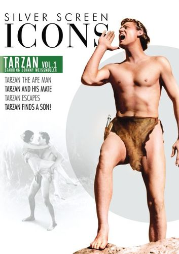 Silver Screen Icons: Johnny Weissmuller as Tarzan - Vol. 1 [DVD] 32860567