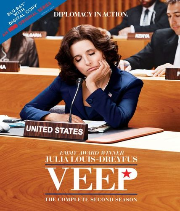 Veep: The Complete Second Season [2 Discs] [Includes Digital Copy] [UltraViolet] [Blu-ray] 3286073