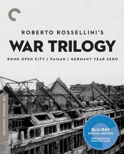 Roberto Rossellini's War Trilogy [Criterion Collection] [Blu-ray] 32913214