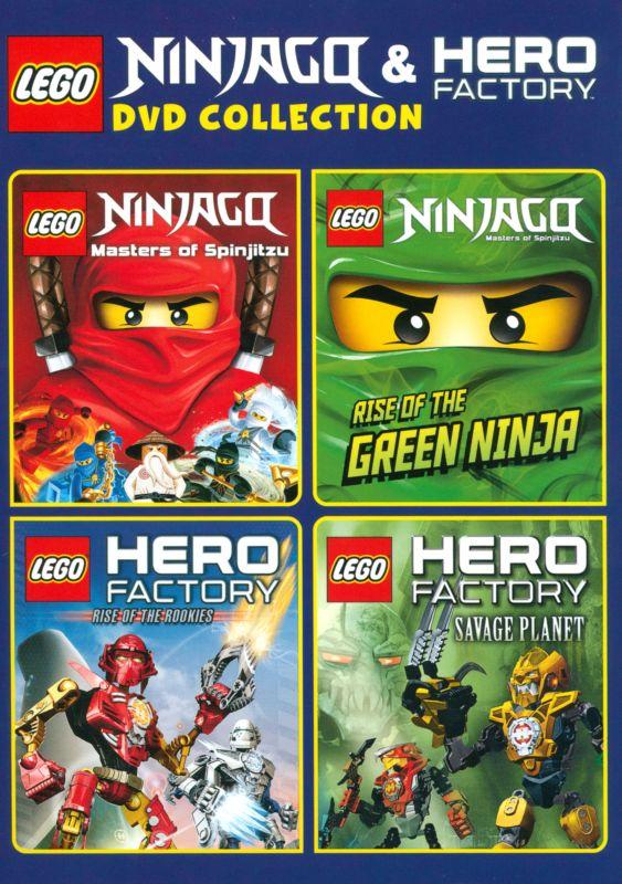 LEGO Ninjago: and Hero Factory Collection [4 Discs] [DVD] 3293012