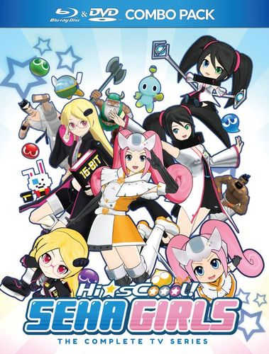 Hi-sCool! Seha Girls: The Complete TV Series [Blu-ray/DVD] [2 Discs] 32932624