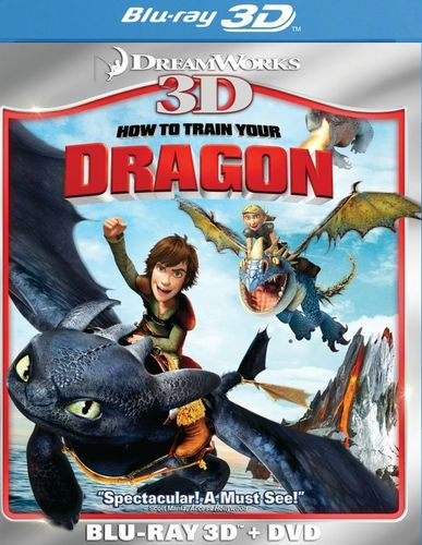 How to Train Your Dragon 3D [2 Discs] [3D] [Blu-ray/DVD] [Blu-ray/Blu-ray 3D/DVD] [2010] 3293283