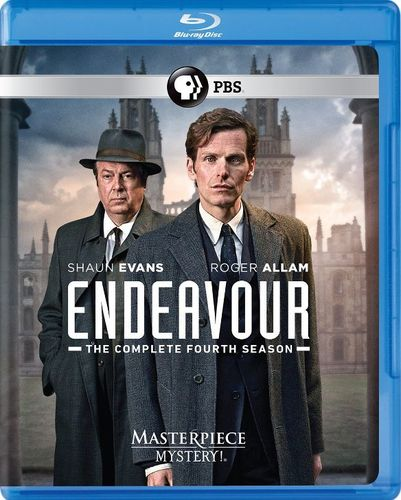 Endeavour: The Complete Season Four [UK-Length Edition] [Blu-ray] [2 Discs] 32968531