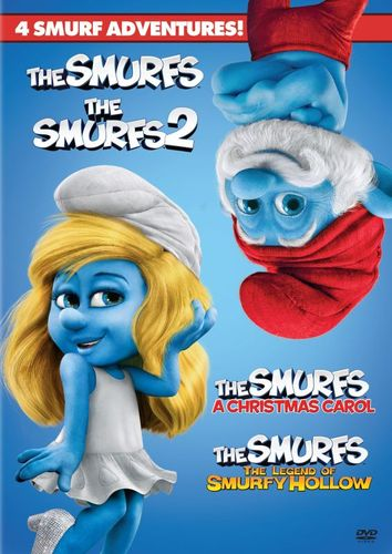 4 Film Collection: The Smurfs [2 Discs] [DVD] 32993936