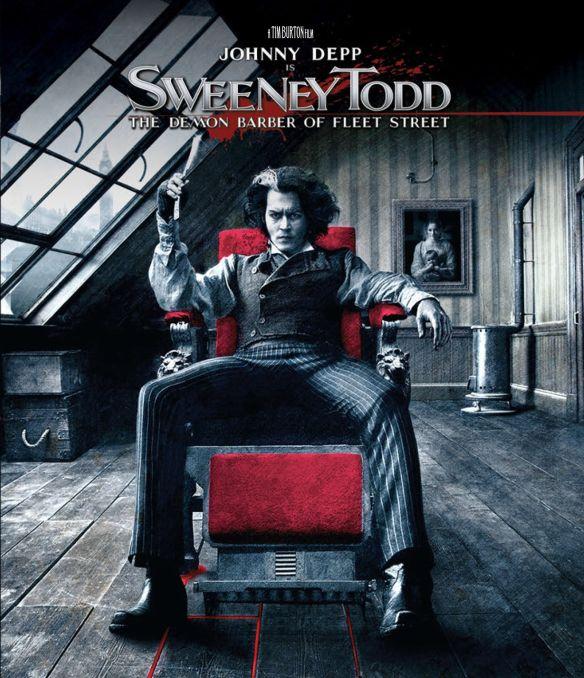 Sweeney Todd: The Demon Barber of Fleet Street [Blu-ray] [2007] 33042216
