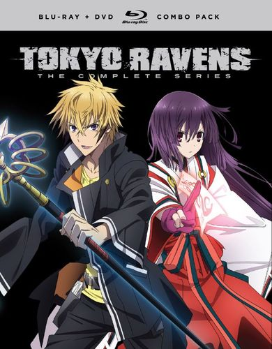 Tokyo Ravens: The Complete Series [Blu-ray/DVD] [8 Discs] 33045594