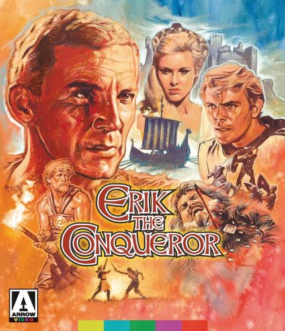 Erik the Conqueror [Blu-ray/DVD] [2 Discs] [1961] 33103082