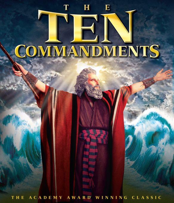 The Ten Commandments [Blu-ray] [2 Discs] [1956] 33120348