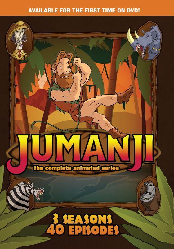 Jumanji: The Complete Animated Series [3 Discs] [DVD] 33148323