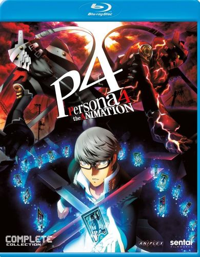 Persona 4: The Animation - The Complete Collection [Blu-ray] [4 Discs] 33160678