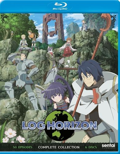 Log Horizon: Complete Collection [Blu-ray] [6 Discs] 33160696