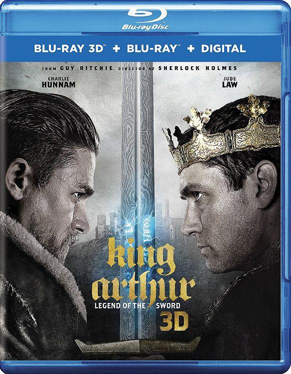 King Arthur: Legend of the Sword [3D] [Blu-ray] [Blu-ray/Blu-ray 3D] [2017] 33160923