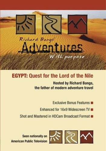 Richard Bangs' Adventures with Purpose: Egypt - Quest for the Lord of the Nile [DVD] 33216512