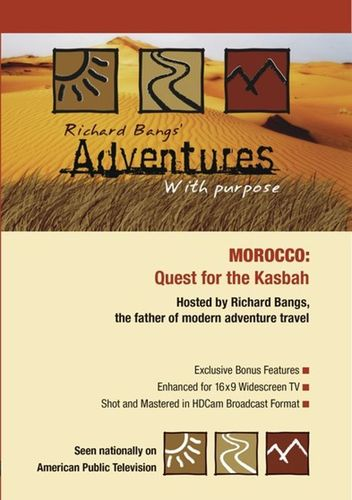 Richard Bangs' Adventures with Purpose: Morocco - Quest for the Kasbah [DVD] 33216558