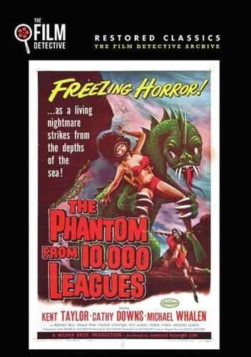 The Phantom from 10,000 Leagues [DVD] [1955] 33219238
