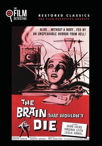 The Brain That Wouldn't Die [DVD] [1959] 33221319