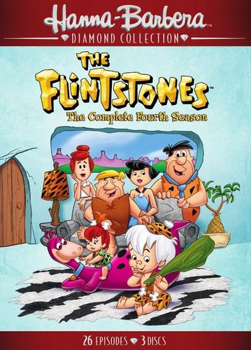 The Flintstones: The Complete Fourth Season [4 Discs] [DVD] 33265387