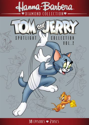Tom and Jerry Spotlight Collection: Vol. 2 [2 Discs] [DVD] 33265396
