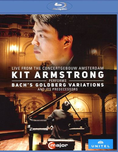 Kit Armstrong Performs Bach's Goldberg Variations and its Predecessors [Blu-ray] [2016] 33274964