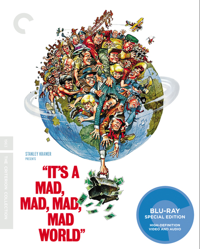 It's a Mad, Mad, Mad, Mad World [Criterion Collection] [Blu-ray] [1963] 33283334