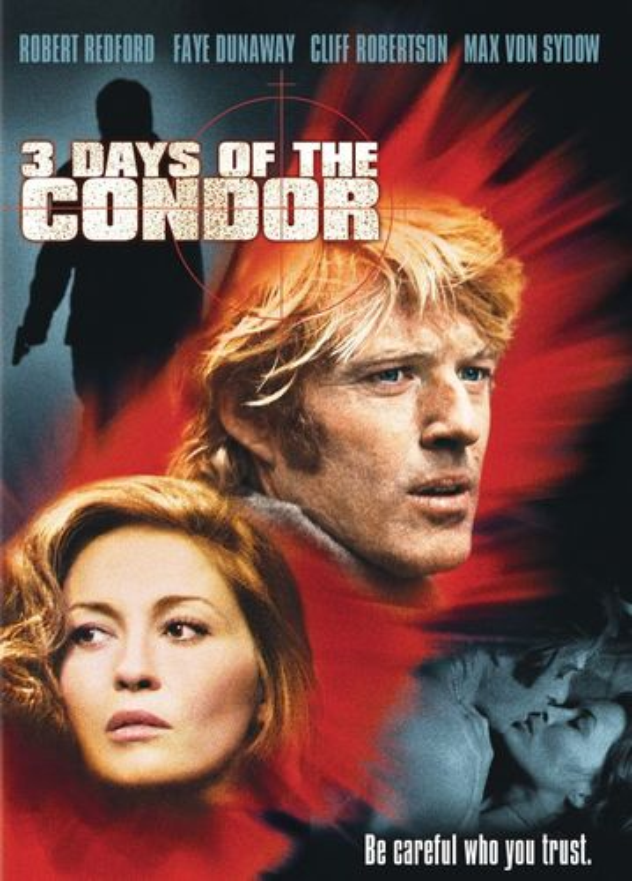 Three Days of the Condor [DVD] [1975] 33348998