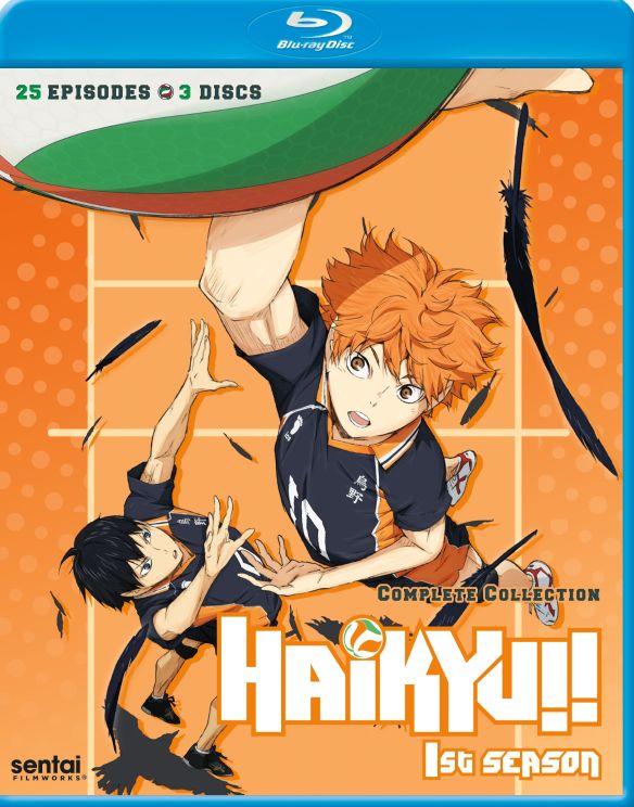 Haikyu: Season 1 [Blu-ray] [3 Discs] 33361422