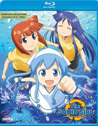 The Squid Girl: The Complete Collection [Blu-ray] [5 Discs] 33361495
