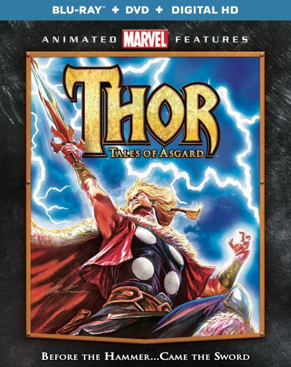 Thor: Tales of Asgard [Blu-ray/DVD] [2011] 33406532