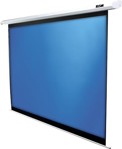"Elite Screens ELECTRIC90X Spectrum Series 90"" Electric/Motorized Projector Screen White"