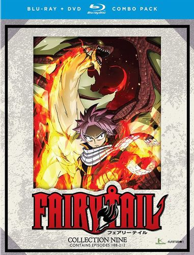 Fairy Tail: Collection Nine [Blu-ray/DVD] [8 Discs] 33435117