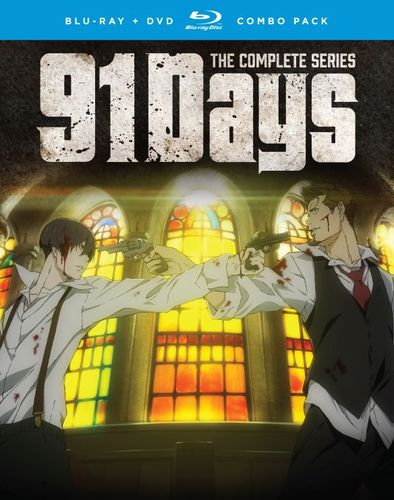 91 Days: The Complete Series [Blu-ray/DVD] [4 Discs] 33437239