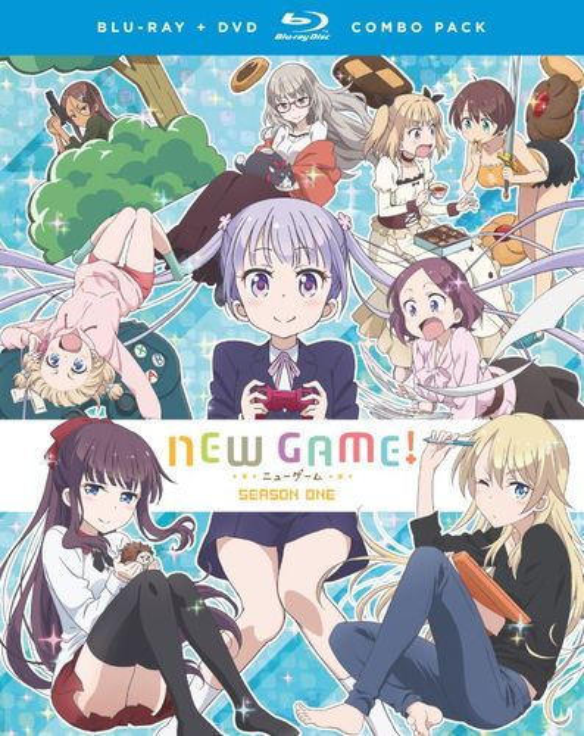 New Game!: Season One [Blu-ray/DVD] [4 Discs] 33437284