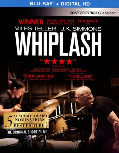 Whiplash [Includes Digital Copy] [UltraViolet] [Blu-ray] [2014] 3345108