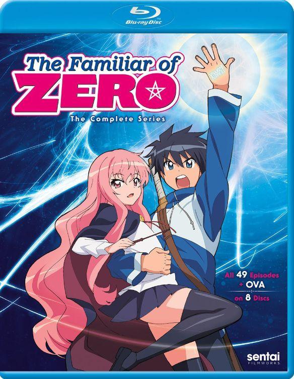 The Familiar of Zero: The Complete Series [Blu-ray] 33465394