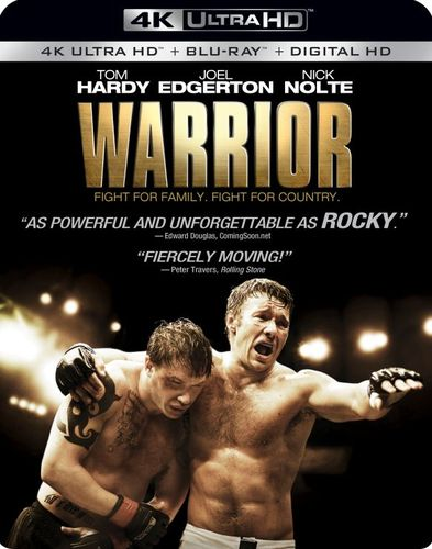 Warrior [4K Ultra HD Blu-ray/DVD] [2 Discs] [Blu-ray/DVD] [2011] 33473159