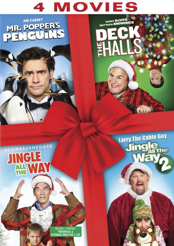 Mr. Popper's Penguins/Deck the Halls/Jingle All the Way/Jingle All the Way 2 [DVD] 33476633