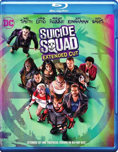 Suicide Squad [Includes Harley Quinn Figure] [Blu-ray] [2016] 33514766