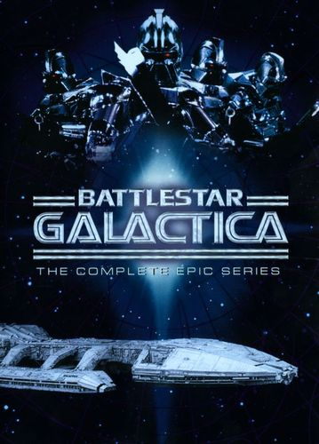 Battlestar Galactica: The Complete Epic Series [10 Discs] [DVD] 3352067